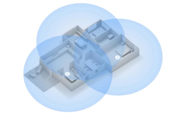 Sieć domowa stworzona za pomocą Google Wi-Fi