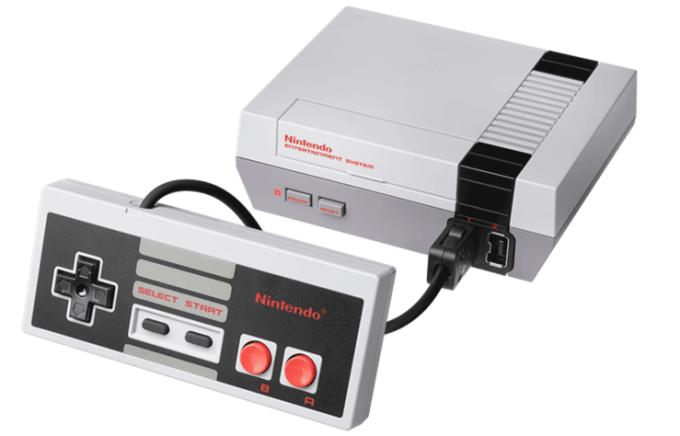 Konsola NES Classic Edition 2016 z klasycznym kontrolerem