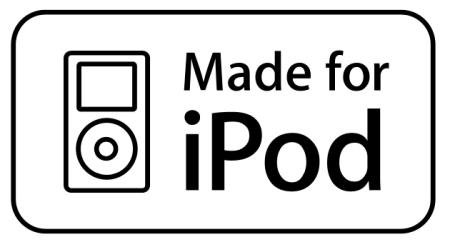 Etykieta dla akcesoriów Made for iPod