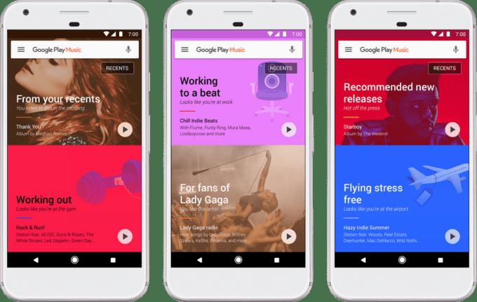 Muzyka Google Play - aplikacja mobilna