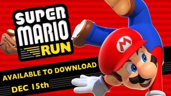 Super Mario Run na iOS-a ukaże się 15 grudnia