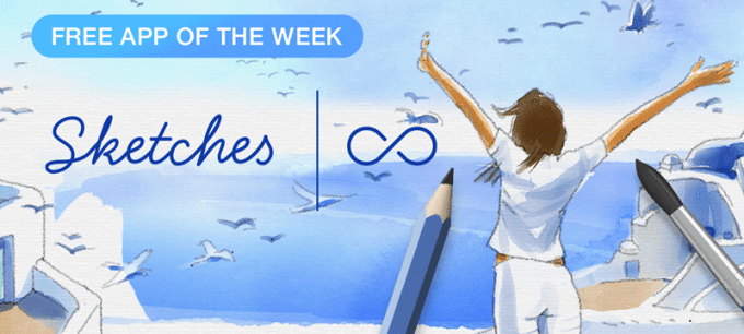 Tayasui Sketches Pro - Free App of the Week w App Store