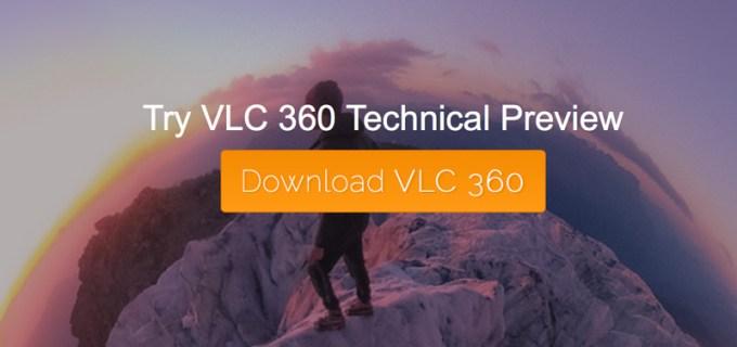 VLC 3.0 - odtwarzanie filmów nagranych w 360 stopni