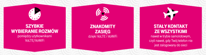 Zalety VoLTE i VoWiFi w T-Mobile