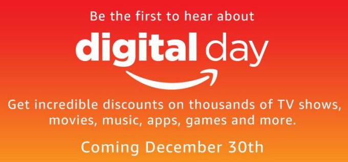 Digital Day (30.12.2016) w sklepie Amazon