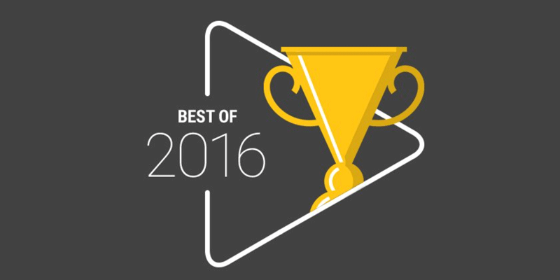 BEST OF 2016 w sklepie Google Play