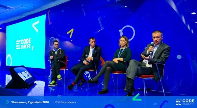 Debata Zawody Przyszłości (Code Europe)