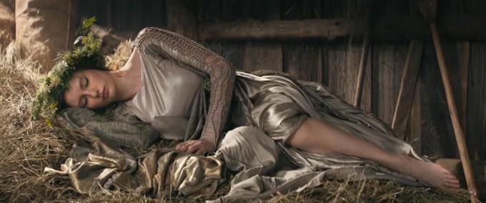Legendy Polskie: Jaga (kadr z filmu Allegro) - Katarzyna Pośpiech