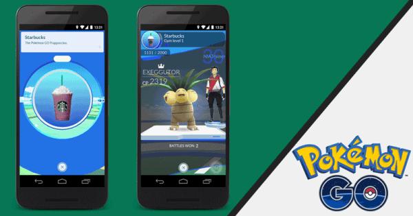 Pokémon GO oficjalnie wprowadza PokeStopy do Starbucksa