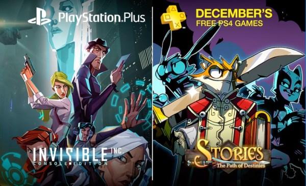 PS Plus: darmowe gry do pobrania w grudniu 2016