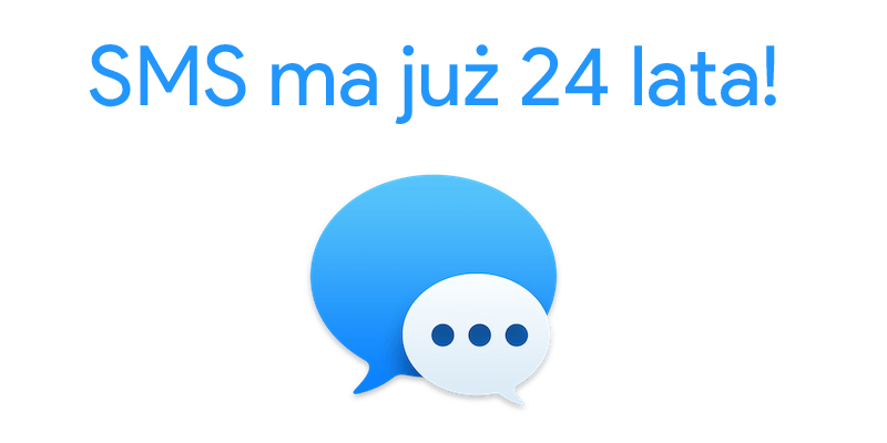 SMS ma już 24 lata