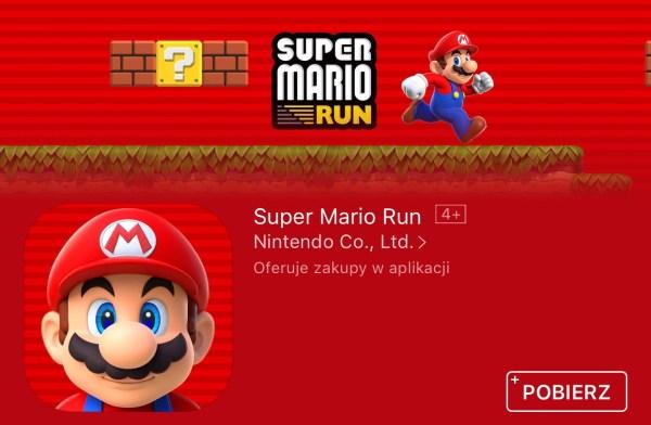 Już możesz pobrać Super Mario Run na iPhone'a i iPada