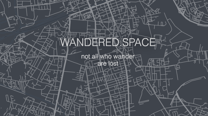 Wandered.space