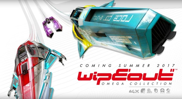 WipEout Omega Collection powraca na PS4
