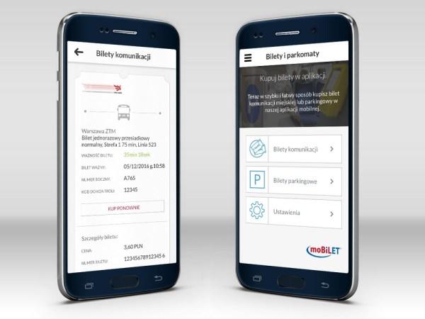 Bilety miejskie i parkingowe w aplikacji mobilnej Banku Millennium
