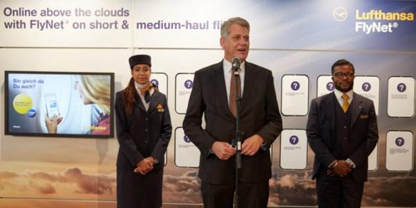 FlyNet® na pokładach Lufthansy i Australian Airlines