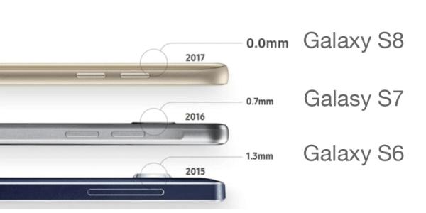 Samsung Galaxy S8 nie będzie miał wystającego aparatu?