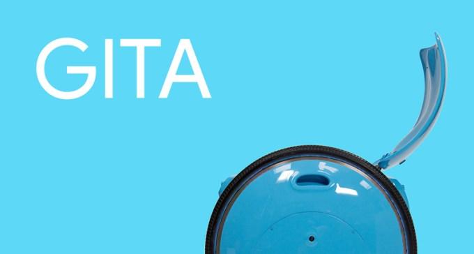 Gita robot od Piaggio Fast Forward