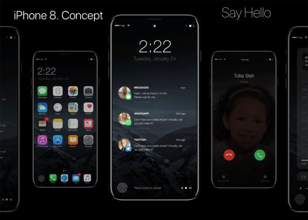 Nowy iPhone 8 może być podobny do tego konceptu