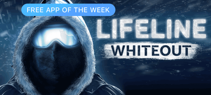 Lifeline Whiteout - Free App of the Week