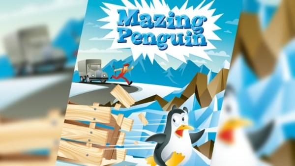 Mazing Penguin – doprowadź pingwina na biegun!