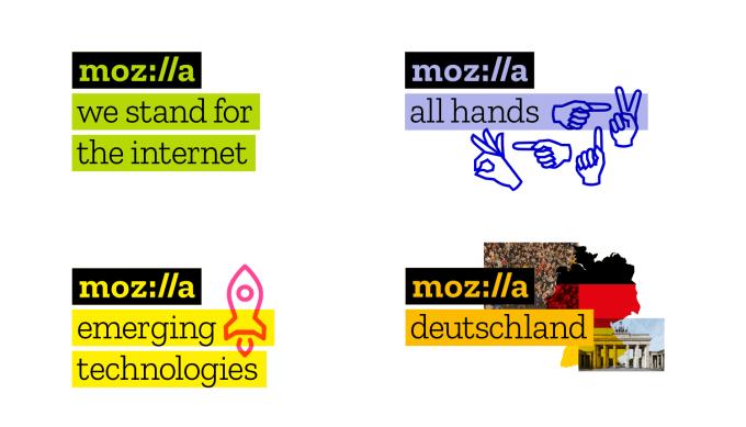 Logo Mozilla (moz://a) - paleta kolorów