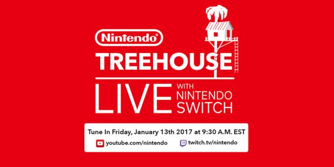 Nintendo Switch 13 stycznia 2017 r