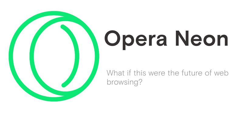 Opera Neon - logo przeglądarki