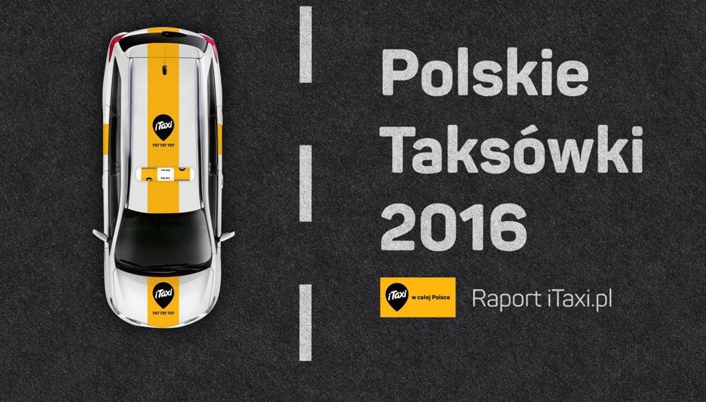 """Raport """"Polskie Taksówki 2016 r."""""""