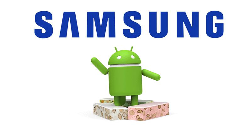 Smartfony Samsunga, które otrzymają aktualizację do Androida 7.0 Nougat