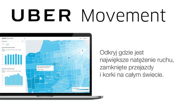 Uber Movement – serwis ze statystykami ruchu