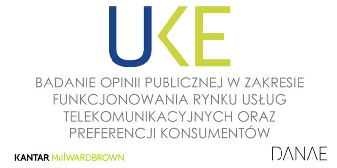 UKE - Badanie użytkowników usług telekomunikacyjnych w Polsce (grudzień 2016)