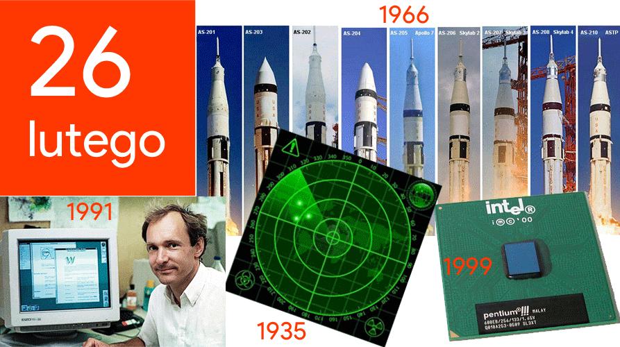 26 lutego - Dzień w historii technologii