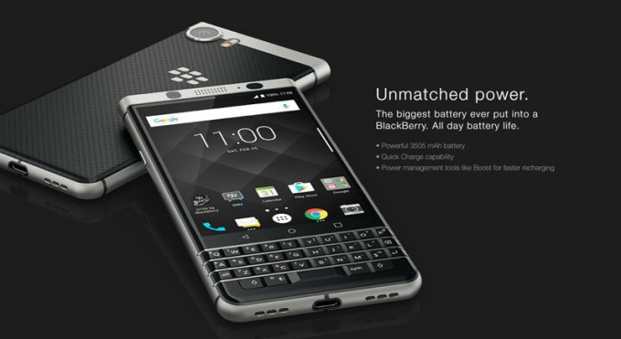 Smartfon BlackBerry KEYone