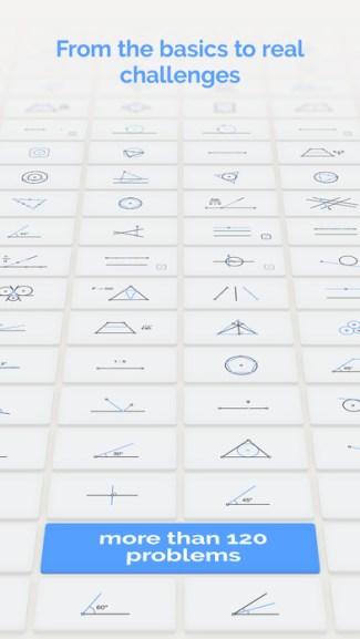 Screen z gry Euclidea (iOS)