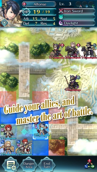 Fire Emblem Heroes (screen iOS)