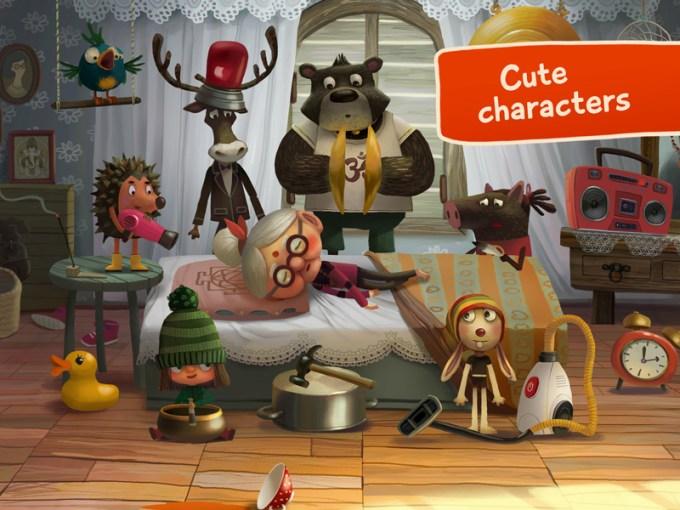 Green Riding Hood - bajeczna grafika i postacie