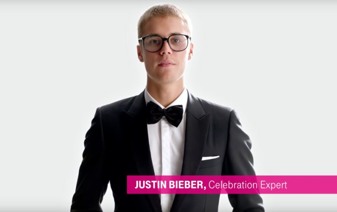 Justin Bieber - Unlimited Moves, T-Mobile