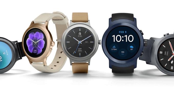 LG Watch Style i LG Watch Sport od Google'a
