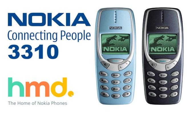 Nokia 3310 od HMD Global wraca w 2017 roku