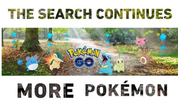 Nowe funkcje i 80 nowych stworków w Pokemon GO