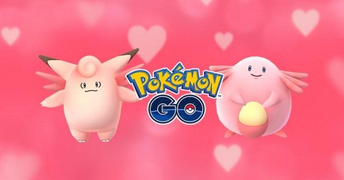 Walentynki 2017 w Pokemon GO