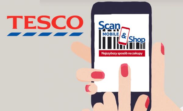 Tesco Scan&Shop – usługa startuje już w Polsce
