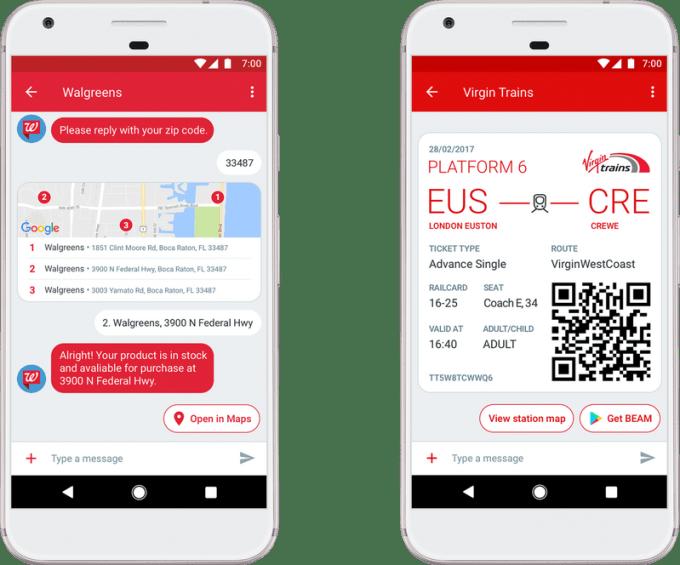 Wiadomości na Androida Google ze wsparciem dla wiadomości RCS