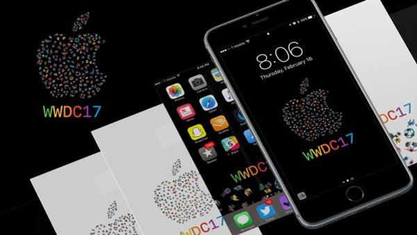 Tapety na smartfona z motywem WWDC 2017