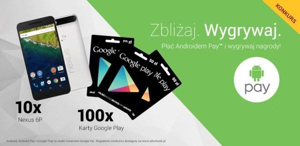 Alior Bank nagradza aktywnych użytkowników Androida Pay™