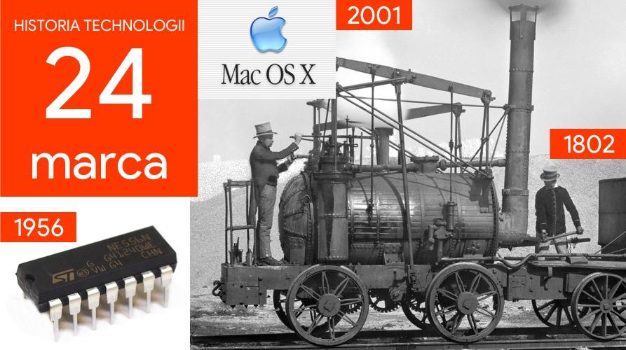 24 marca - Dzień w historii technologii