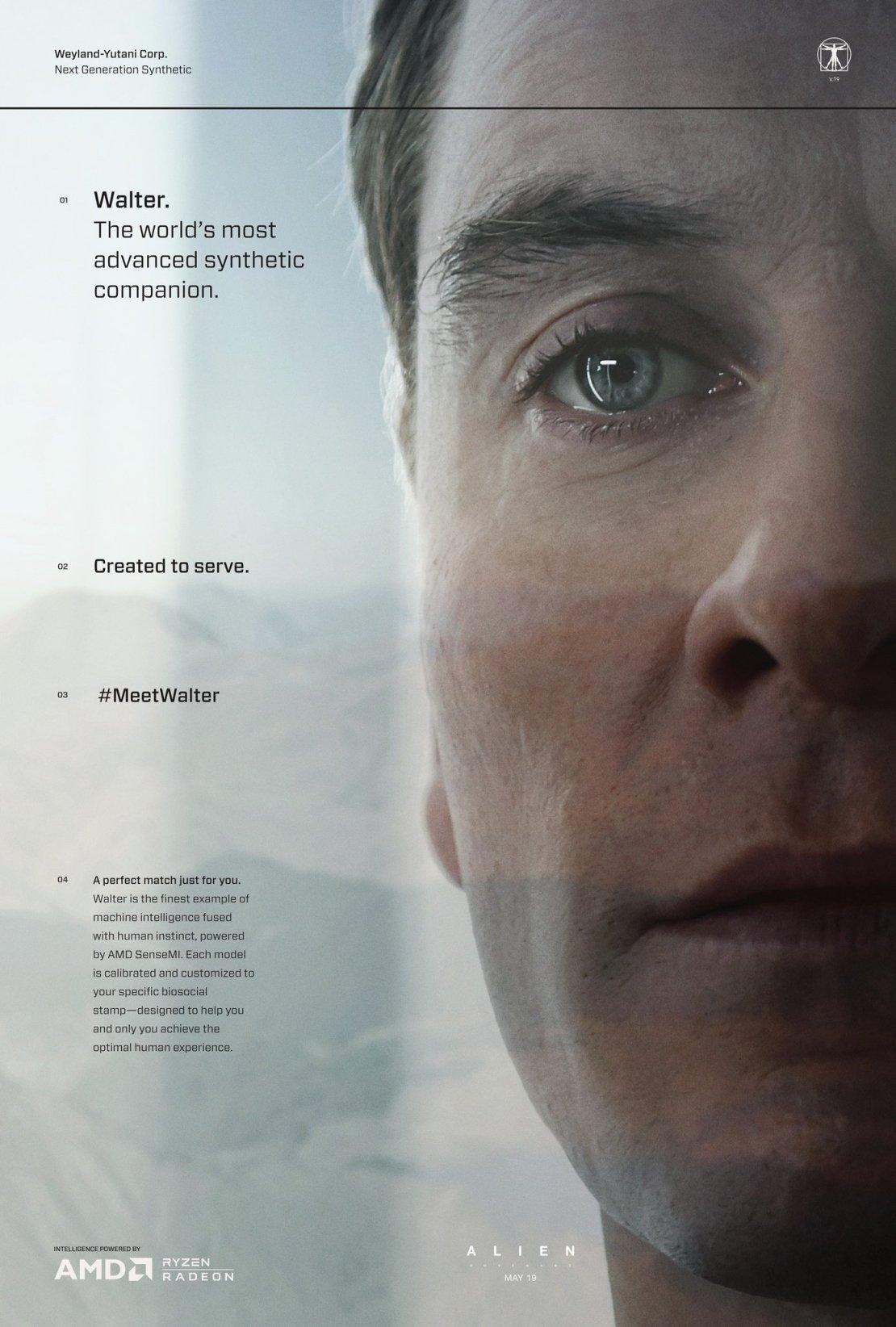 Plakat Meet Walter (Alien: Covenant)