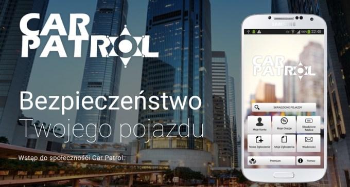 Aplikacja mobilna Car Patrol