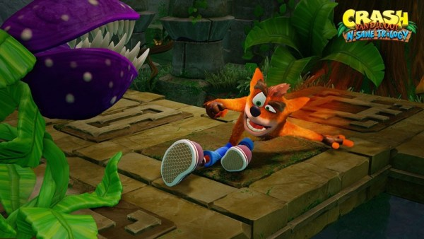 Hang Eight w Crash Bandicoot N-samowita Trylogia na PS4